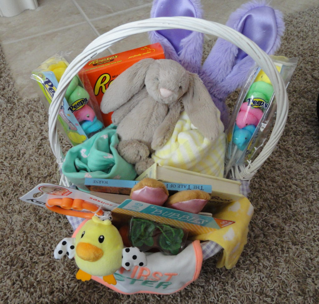Non-Candy Easter Basket Ideas | twoplusmeandyou.com
