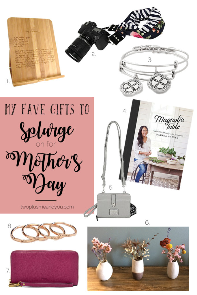 Mother's Day Gift Guide| twoplusmeandyou.com