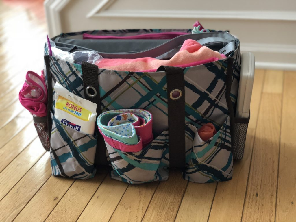 Summer Grab & Go Bag | twoplusmeandyou.com